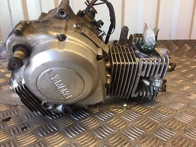 YAMAHA YBR125 YBR 125 CUSTOM ENGINE YEAR 2008